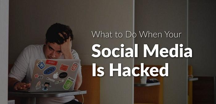 当您的社交媒体帐户被黑客盗取时该怎么办