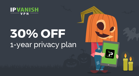 IPVanishVPN最新优惠码,新用户注册限时优惠30%