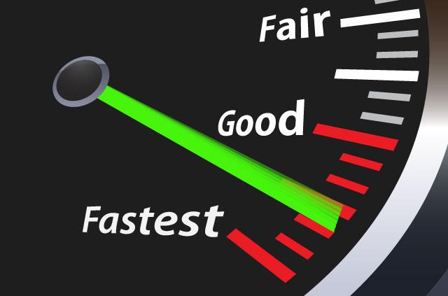 最新速度测试:ExpressVPN的速度排名第一