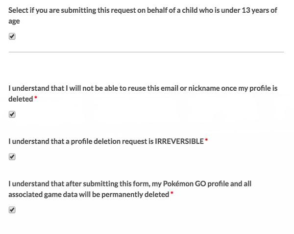 如何删除您的PokémonGo帐户