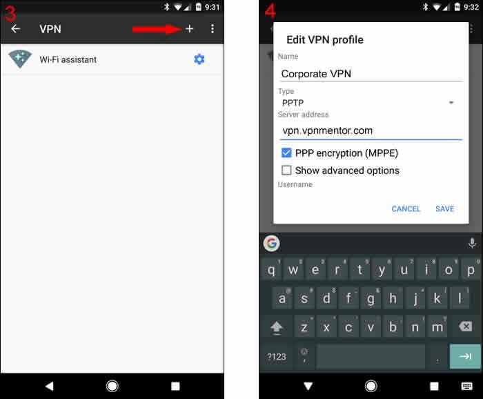 如何用5个简单的步骤在安卓设备连接VPN